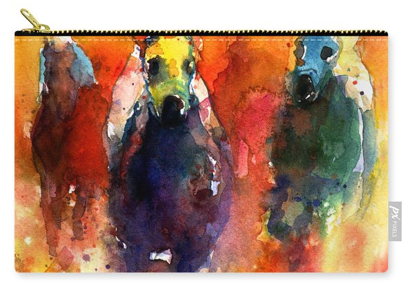 Derby Horse Race Racing Carry-all Pouch