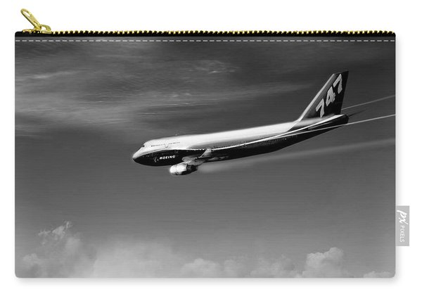 Descending - Boeing 747 Carry-all Pouch