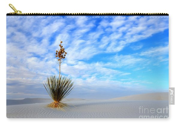Desert Beauty White Sands New Mexico Carry-all Pouch