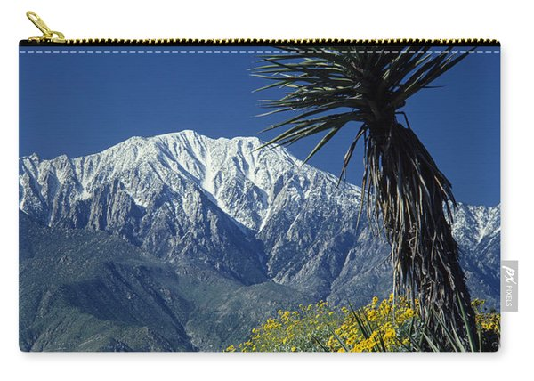Desert Blooms Carry-all Pouch