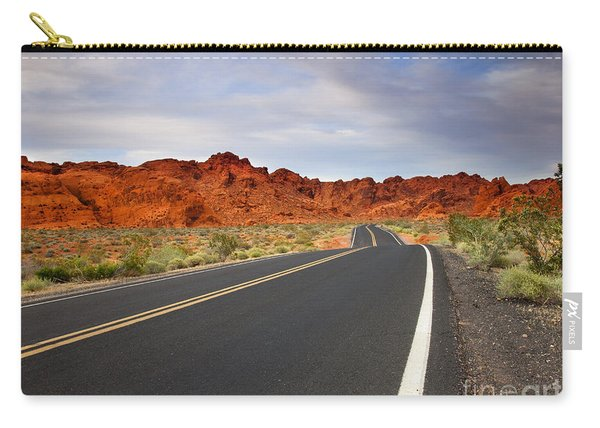 Desert Highway Carry-all Pouch