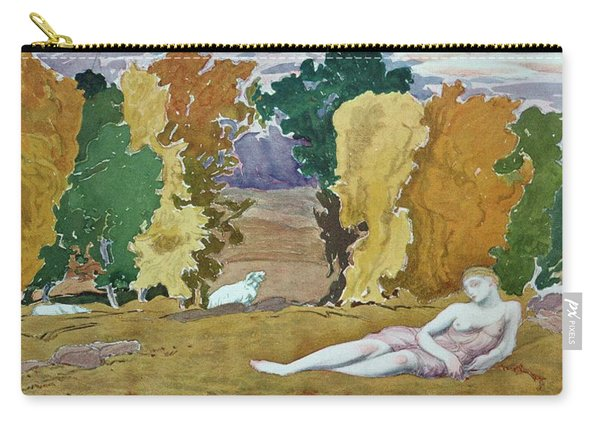 Design For A Decorative Panel Carry-all Pouch