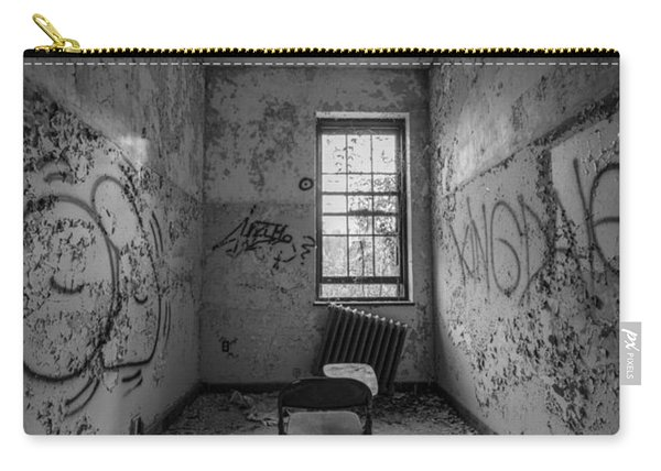 Detention Room Bw Carry-all Pouch