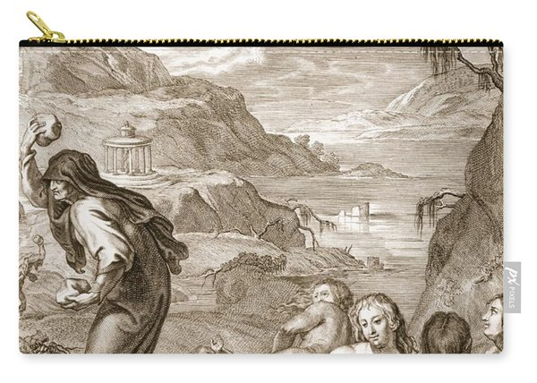 Deucalion And Pyrrha Repeople The World Carry-all Pouch