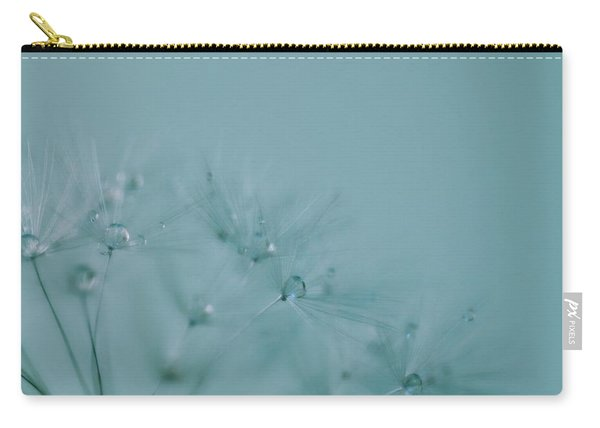 Dew Drops On Dandelion Seeds Carry-all Pouch