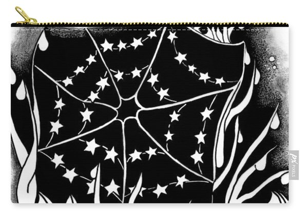 Dewdrop Stars Carry-all Pouch