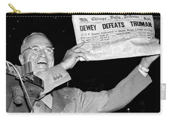 Dewey Defeats Truman Newspaper Carry-all Pouch