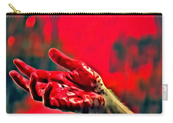 Dexter Bloody Hand Carry-all Pouch