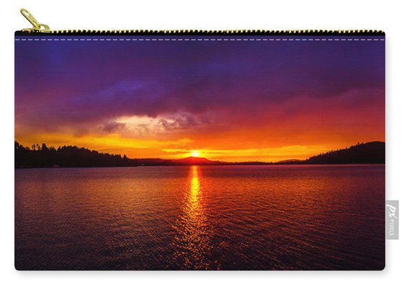Dexter Lake Oregon Sunset 2 Carry-all Pouch
