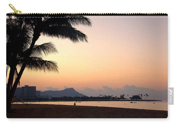 Diamond Head Sunrise - Honolulu Hawaii Carry-all Pouch