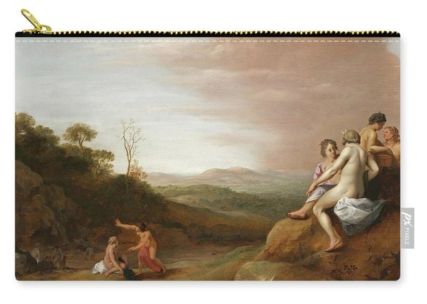 Diana And Her Nymphs With The Discovery Carry-all Pouch