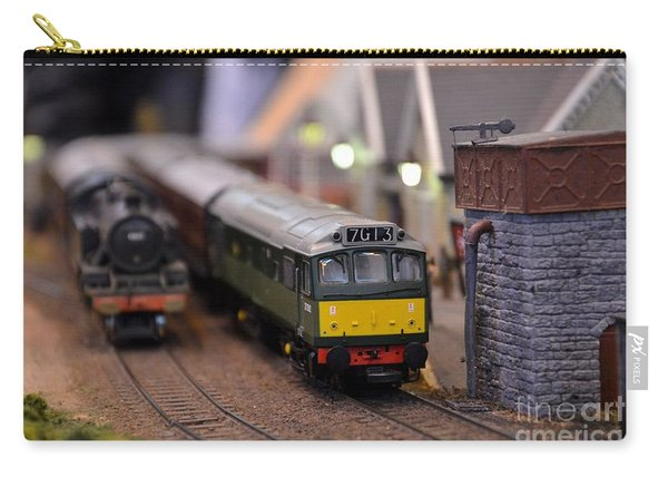 Diesel Electric Model Train Railway Engine Carry-all Pouch