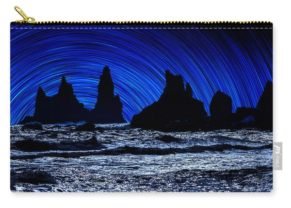 Digial Composite Of Large Rocks Carry-all Pouch