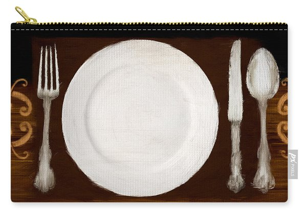 Dining Etiquette Carry-all Pouch