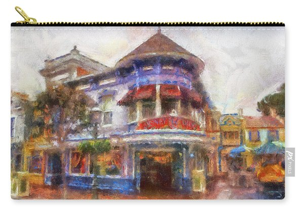 Disney Clothiers Main Street Disneyland Photo Art 02 Carry-all Pouch