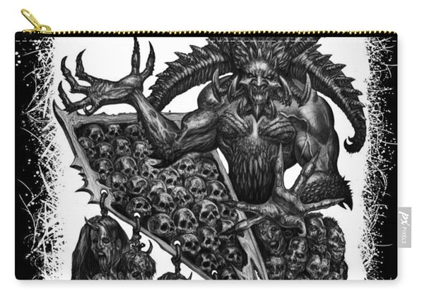 Display The Sins At Hand Carry-all Pouch
