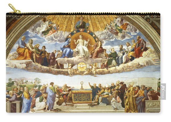 Disputation Of Holy Sacrament. Carry-all Pouch