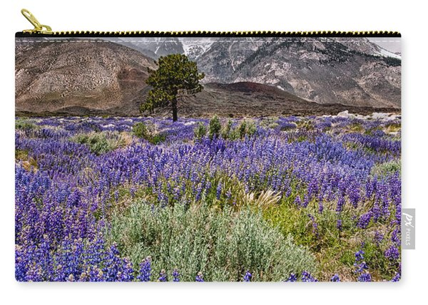 Division Creek Lupine Carry-all Pouch