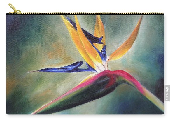 Dj's Flower Carry-all Pouch