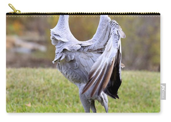 Do The Sandhill Strut Carry-all Pouch