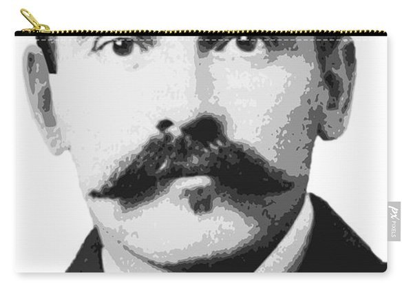 Doc Holliday Of The Old West Carry-all Pouch