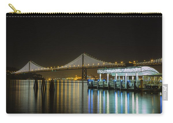 Docks And Bay Lights Carry-all Pouch