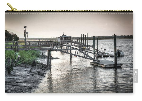Docks Of The Bull River Carry-all Pouch