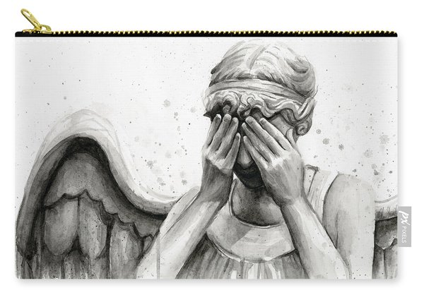 Doctor Who Weeping Angel Don't Blink Carry-all Pouch