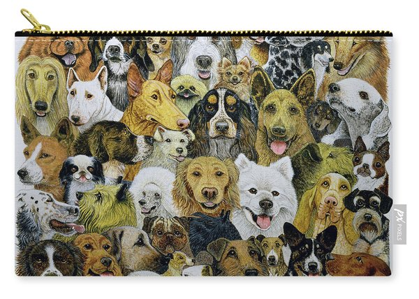 Dog Friends  Carry-all Pouch