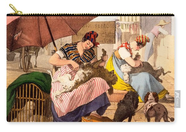 Dog Groomers, 1820 Carry-all Pouch