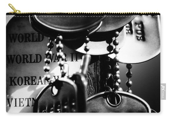 Dog Tags From War Carry-all Pouch