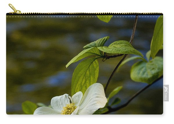 Dogwood On The Merced Carry-all Pouch