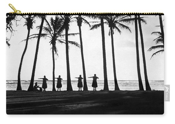 Doing The Hula At Sunset Carry-all Pouch