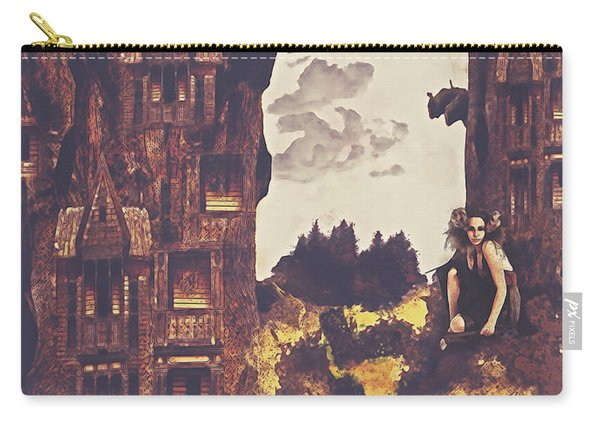 Dollhouse Forest Fantasy Carry-all Pouch