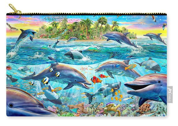 Dolphin Reef Carry-all Pouch