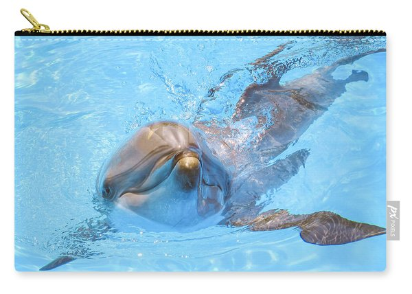 Dolphin Swimming Carry-all Pouch