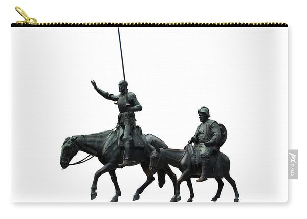 Don Quixote And Sancho Panza  Carry-all Pouch