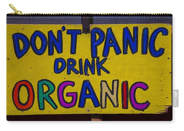 Don't Panic Sign Carry-all Pouch