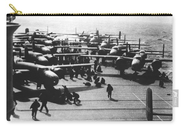 Doolittle's Raider Planes Carry-all Pouch