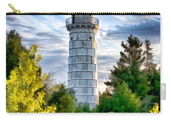 Door County Cana Island Beacon Carry-all Pouch