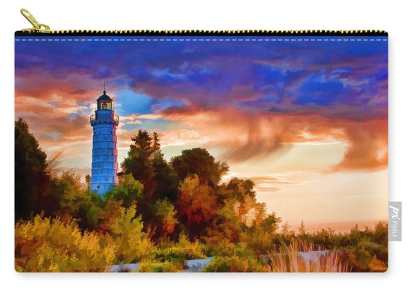 Door County Cana Island Wisp Carry-all Pouch