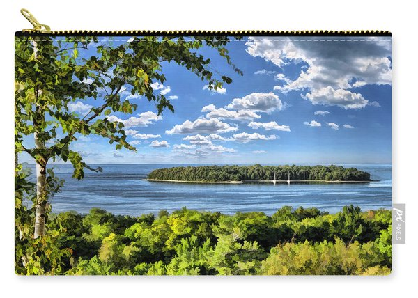 Door County Horseshoe Island Carry-all Pouch