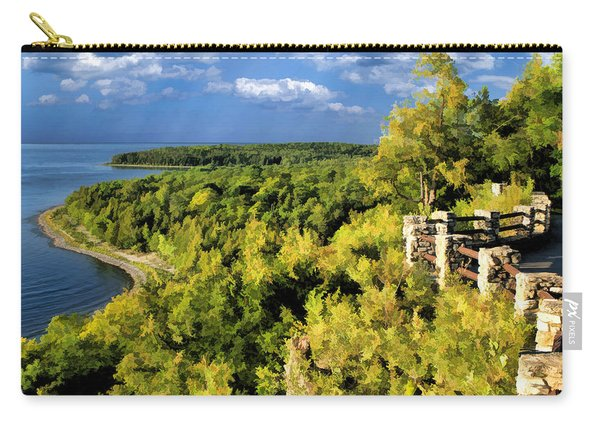 Door County Peninsula State Park Svens Bluff Overlook Carry-all Pouch
