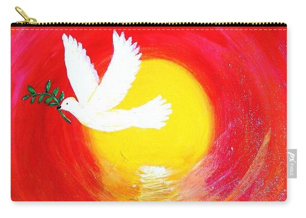 Dove Of Peace Carry-all Pouch