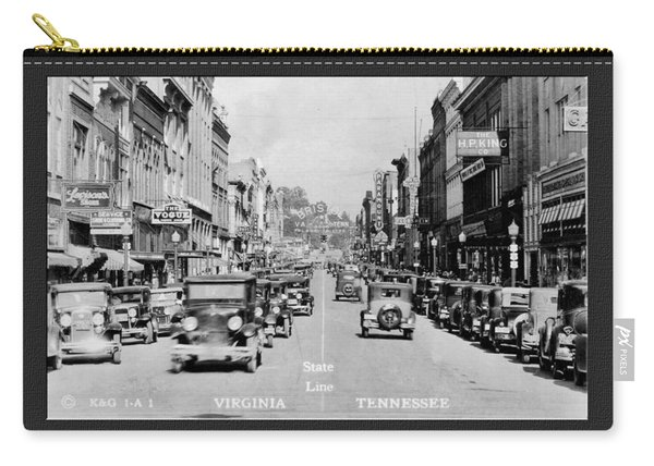 Downtown Bristol Va Tn 1931 Carry-all Pouch