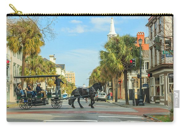 Downtown Charleston Stroll Carry-all Pouch