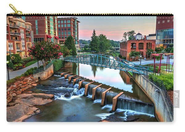Downtown Greenville On The River Carry-all Pouch