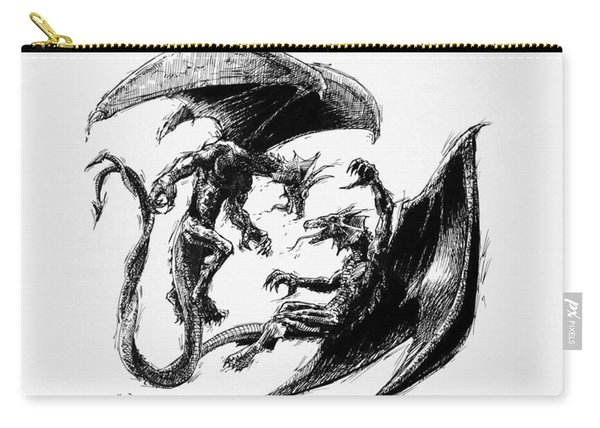 Dragon Love Carry-all Pouch