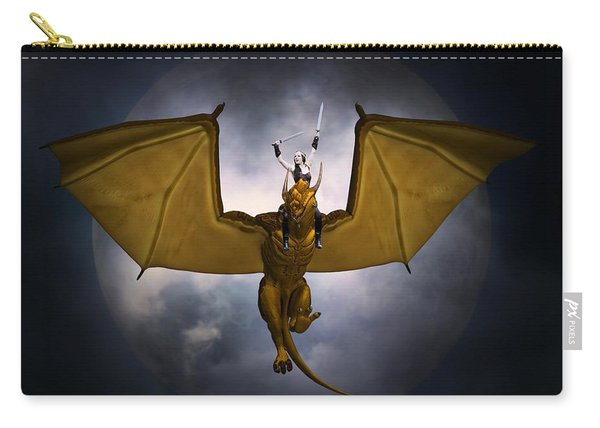 Dragon Rider Carry-all Pouch