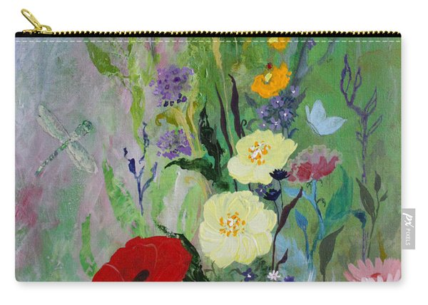 Dragonflies Dancing Carry-all Pouch